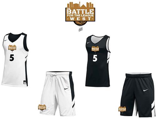 Battle for the League WEST uniforms